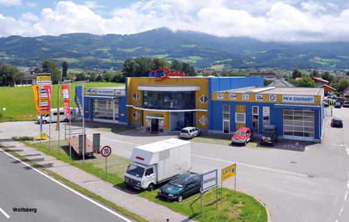Reifenwechsel autowerkstatt wolfsberg reifen john for Depot kolbermoor